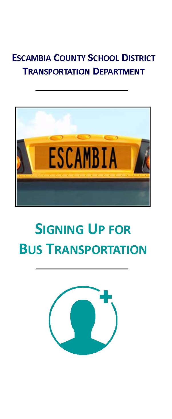 Student Transportation Sign-up Cover